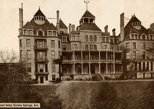 The Crescent Hotel: Built in 1886